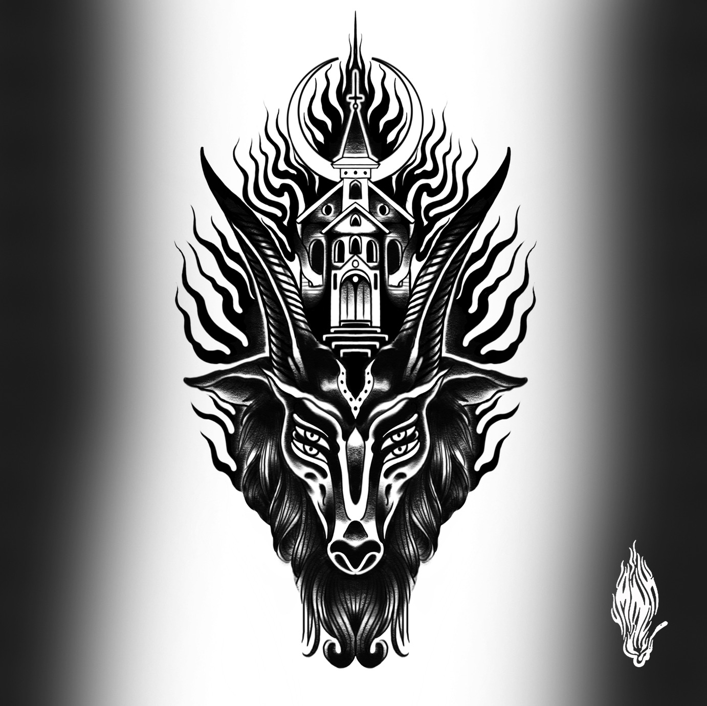 Mink Bell • Goat Flash available for tattoo